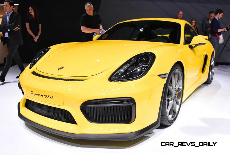 2015 Porsche Cayman GT4 6