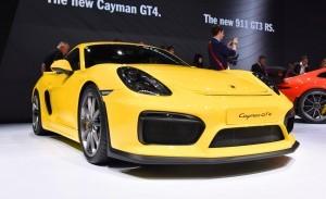 2015 Porsche Cayman GT4 8