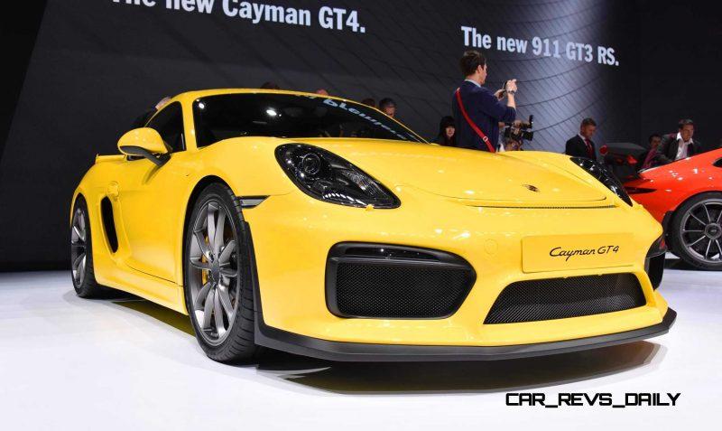 2015 Porsche Cayman GT4 9