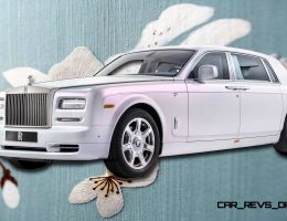 2015 Rolls-Royce Phantom SERENITY Is Silky-Soft Bespoke Limo
