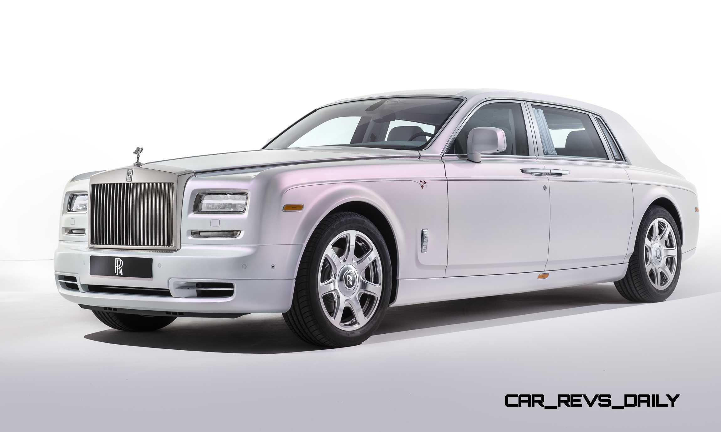 2015 rolls royce phantom serenity for Rolls royce phantom motor