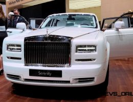Updated With 15 New Photos – 2015 Rolls-Royce Phantom SERENITY Is Silky-Soft Bespoke Limo
