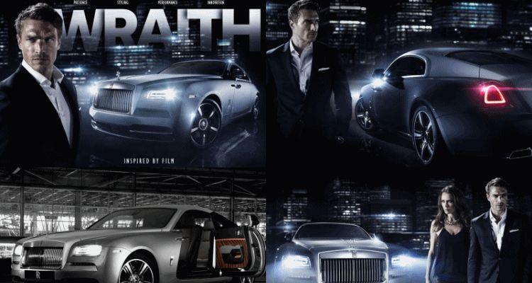2015 Rolls-Royce WRAITH 'Inspired By Film' Edition