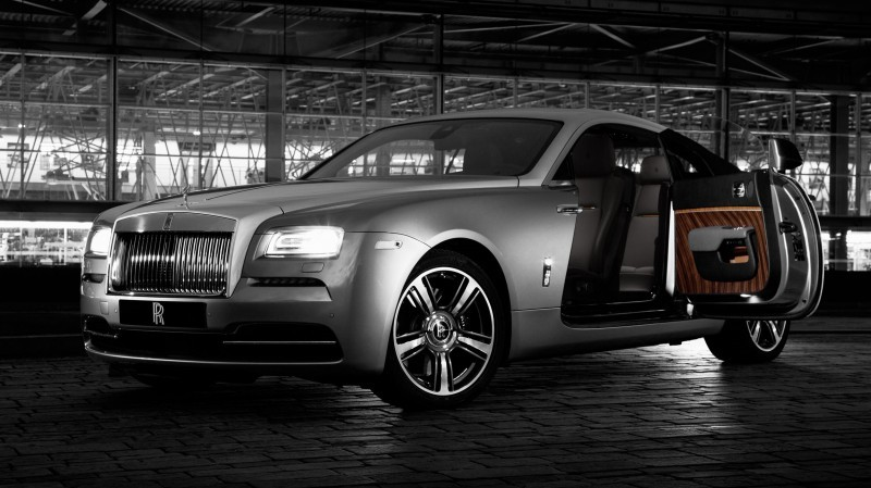 2015 Rolls-Royce WRAITH Inspired by Film Special Edition 1
