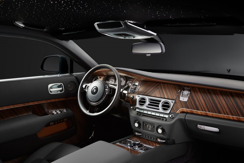 2015 Rolls-Royce WRAITH Inspired by Film Special Edition 10