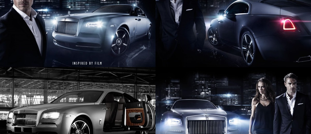 2015 Rolls-Royce WRAITH Inspired by Film Special Edition 4-tile