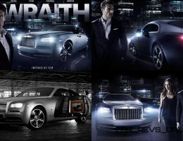 2015 Rolls-Royce WRAITH Inspired by Film Edition Celebrates Frozen Moment BFI Inductee