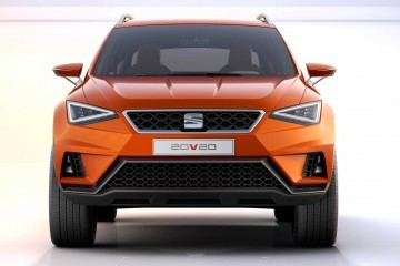 2015 SEAT 20V20 Concept SUV Is Large and Remarkably-Handsome Design Study