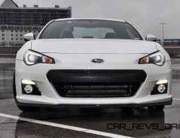 First Drive Review - 2015 Subaru BRZ Series.Blue on Video in Crystal White