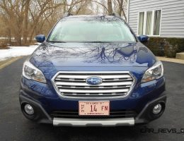 Road Test Review – 2015 Subaru Outback Limited By Ken Glassman