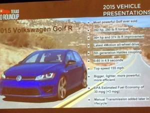 2015 Volkswagen Golf R Review 1