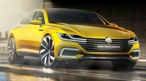2015 Volkswagen Sport Coupe Concept GTE 1