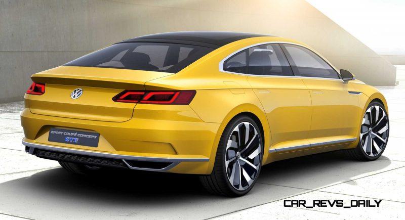 2015 Volkswagen Sport Coupe Concept GTE 12
