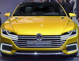 Updated With 25 New Photos – 2015 Volkswagen Sport Coupe Concept GTE