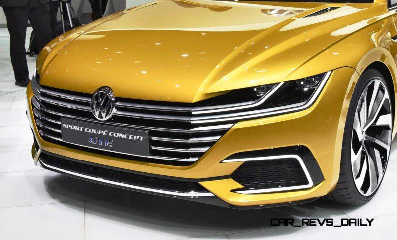 2015 Volkswagen Sport Coupe Concept GTE 4