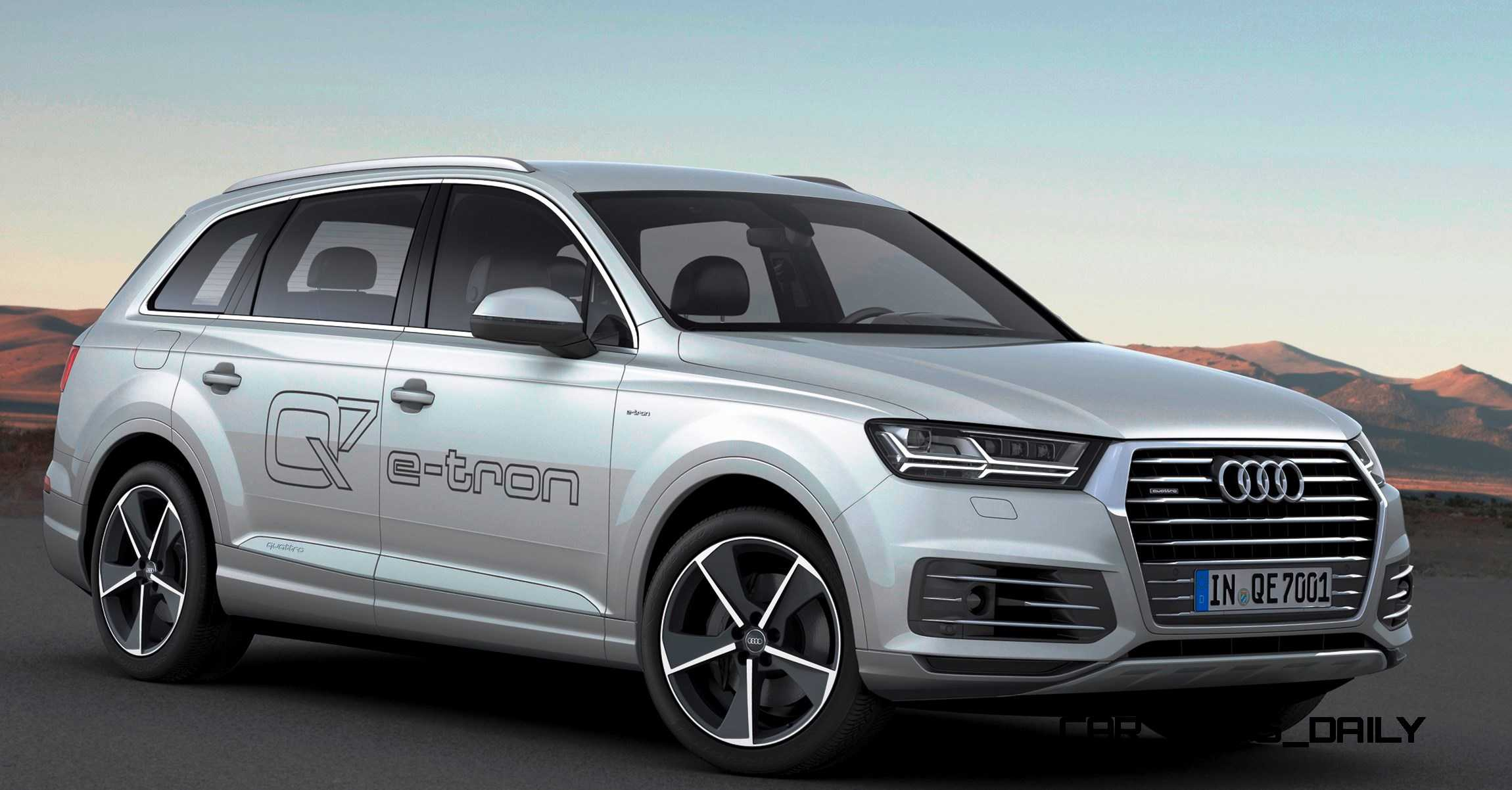 2016 audi q7 e tron 3 0 tdi quattro. Black Bedroom Furniture Sets. Home Design Ideas