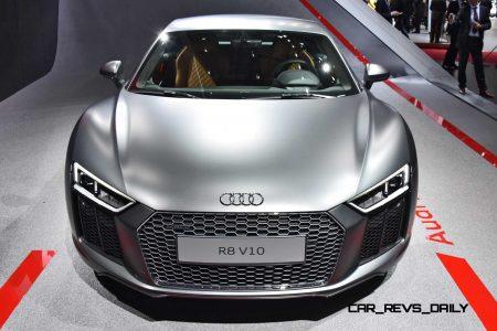 2016 Audi R8 V10 Headlines Geneva Show With New Lms Gt3 Racecar