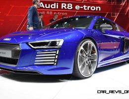 2016 Audi R8 e-tron Revealed In Geneva – 3.9s EV Is Only Rear-Drive R8