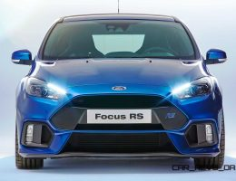 Nitrous Blue 2016 Ford Focus RS Coming to NYC Next Week! USA Showrooms Next Year