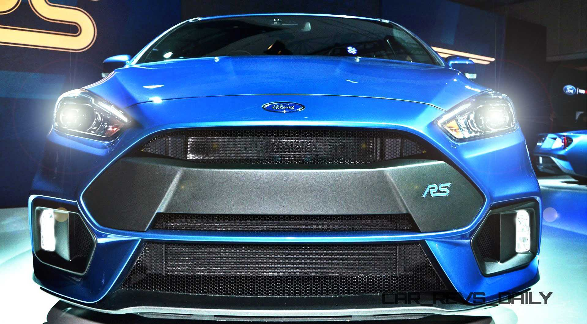 Nitrous Blue 2016 Ford Focus RS Coming to NYC Next Week! USA Showrooms