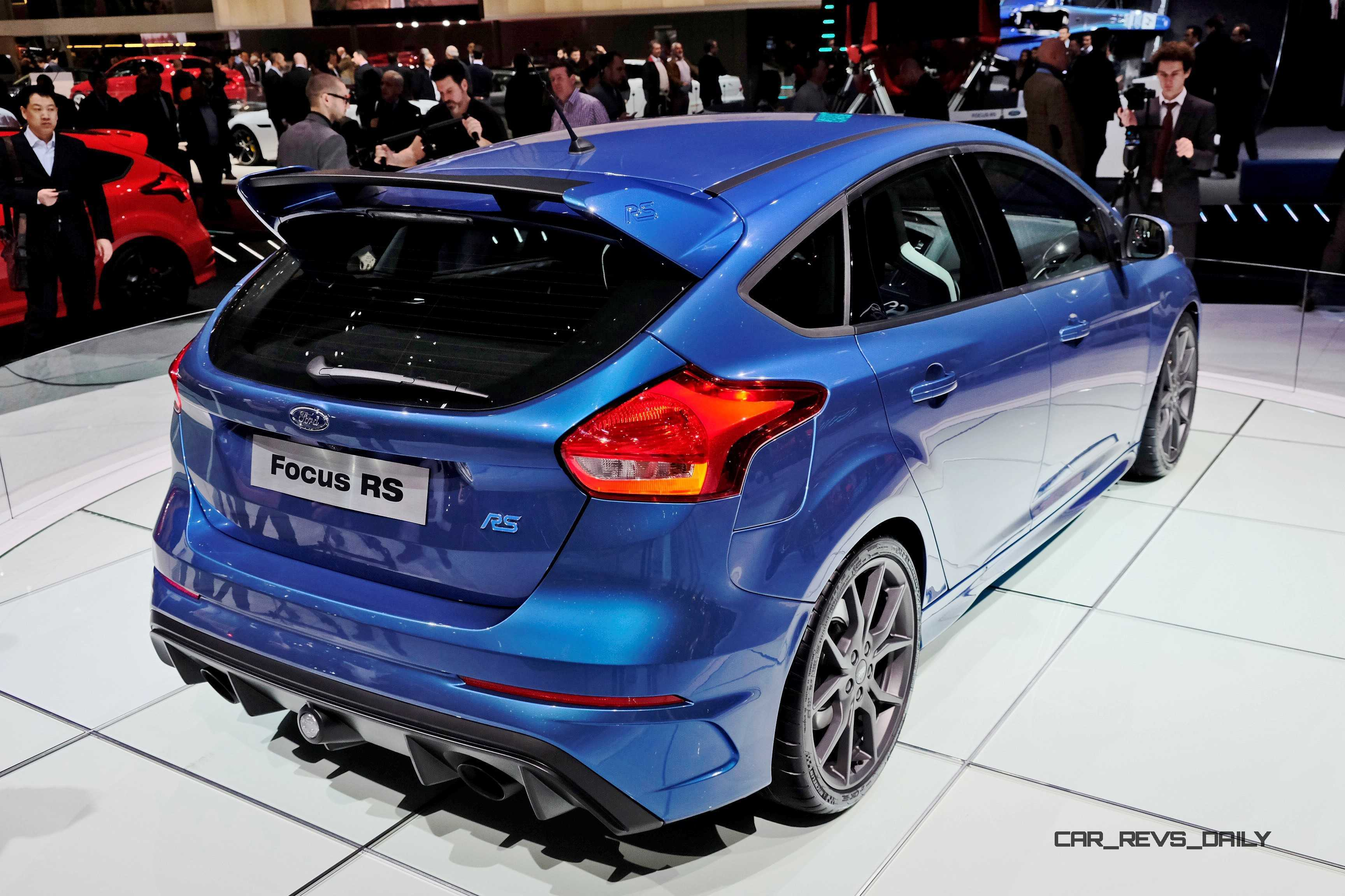 Nitrous Blue 2016 Ford Focus RS Coming to NYC Next Week! USA Showrooms ...