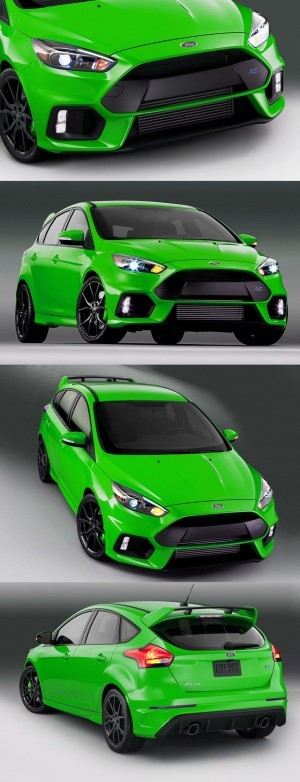 2016 Ford Focus RS Digital Colorizer 1