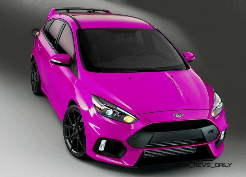 2016 Ford Focus RS - Digital Colorizer 1