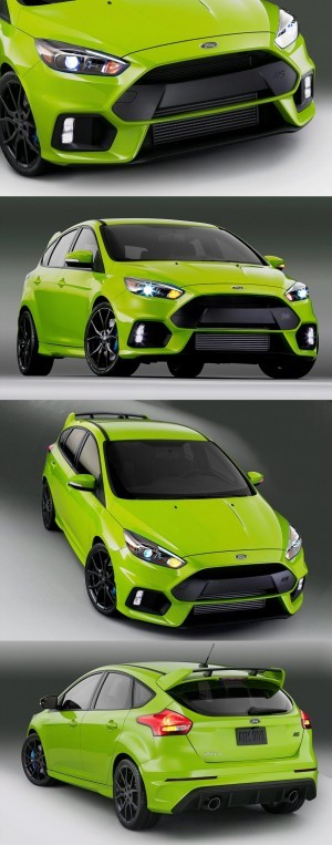 2016 Ford Focus RS Digital Colorizer 14
