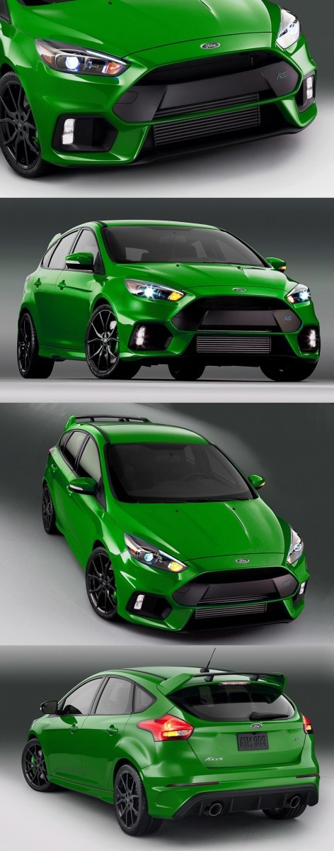 2016 Ford Focus RS Digital Colorizer 16