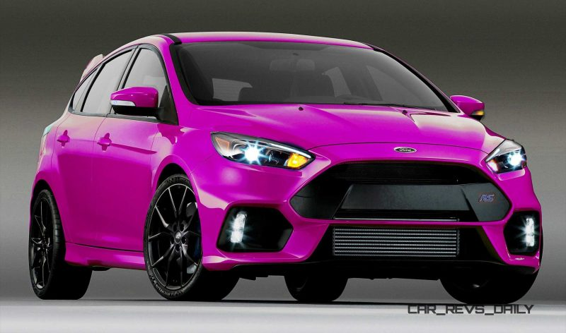 2016 Ford Focus RS - Digital Colorizer 26