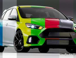 2016 Ford Focus RS – Digital Colorizer and Tallpapers