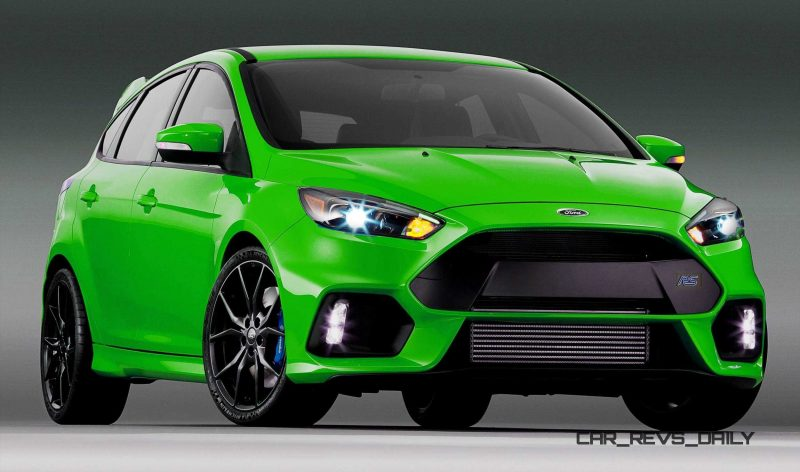 2016 Ford Focus RS - Digital Colorizer 36