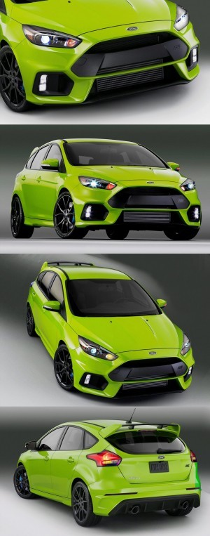 2016 Ford Focus RS Digital Colorizer 4