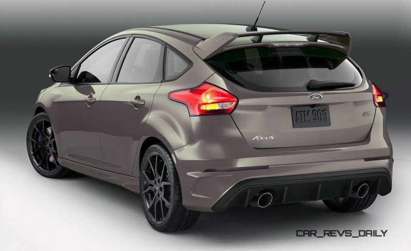 2016 Ford Focus RS - Digital Colorizer 46