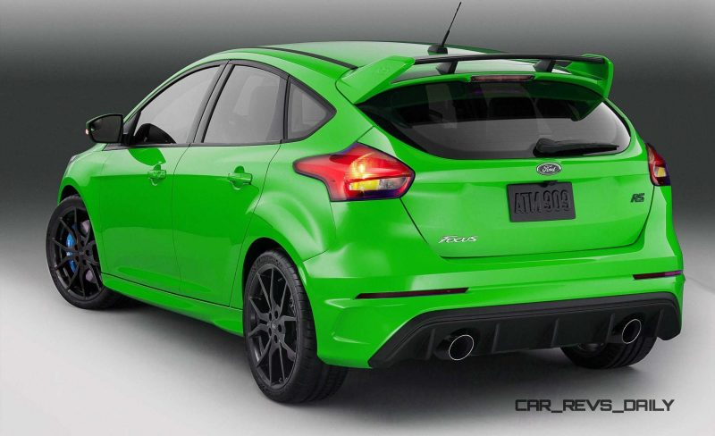 2016 Ford Focus RS - Digital Colorizer 47