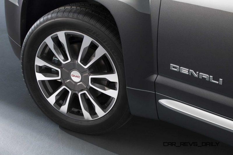 2016 GMC Terrain Denali 19-inch wheel
