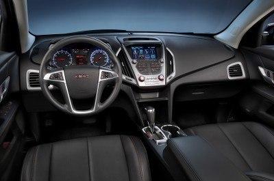 2016 GMC Terrain SLT jet black interior