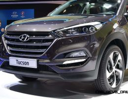 2016 Hyundai Tucson Impresses in 25 New Geneva Pics + Advanced 48-Volt PHEV