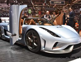 2016 Koenigsegg REGERA Is All-New With 700HP E-Boost Atop 1100HP V8TT