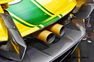 2016 McLaren P1 GTR Meets 1997 McLaren F1 GT LongTail In Geneva 17