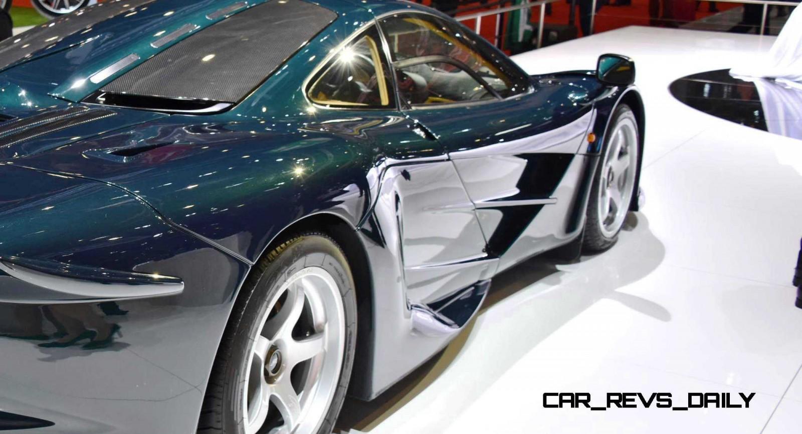 2016 McLaren P1 GTR Meets 1997 McLaren F1 GT LongTail In Geneva 29