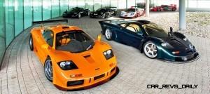 2016 McLaren P1 GTR Meets 1997 McLaren F1 GT LongTail In Geneva 3