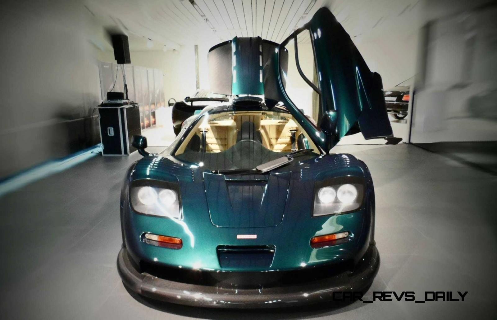 2016 McLaren P1 GTR Meets 1997 McLaren F1 GT LongTail In Geneva 30