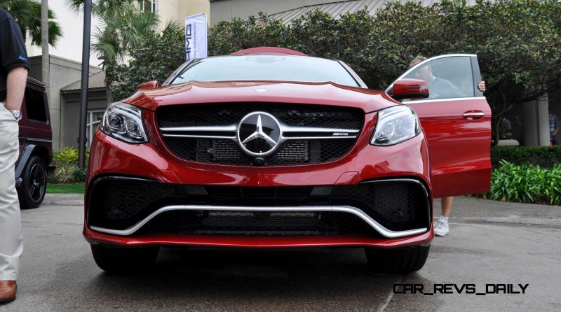 2016 Mercedes-AMG GLE63-S Inside and Out From Amelia Island 2016 Mercedes-AMG GLE63-S Inside and Out From Amelia Island