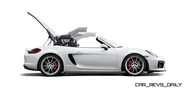 2016 Porsche Boxster Spyder 10