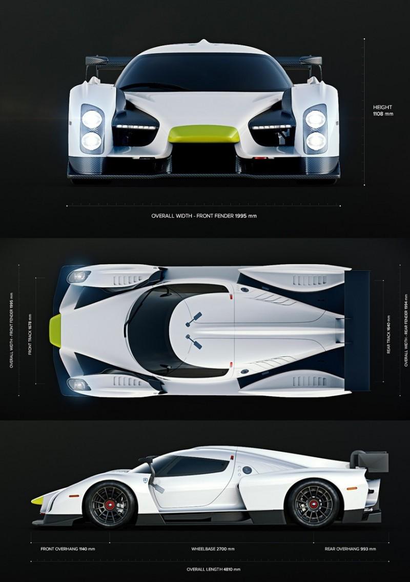 2016 Scuderia Cameron Glickenhaus SCG003C Competizione 10