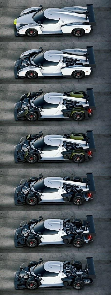 2016 Scuderia Cameron Glickenhaus SCG003C Competizione 3