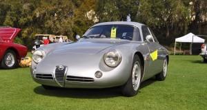 Amelia 2015 Highlights - 1962 Alfa Romeo Giulietta SZ 35