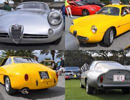 Amelia 2015 Highlights – 1962 Alfa Romeo Giulietta SZ Coda Tronca and 1960 SZ Berlinetta