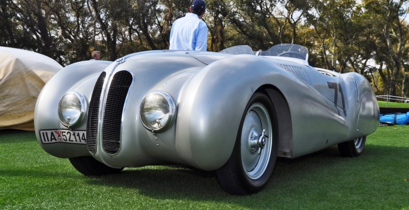 Amelia Island 2015 - 1937 BMW 328 Mille Miglia Roadster 8
